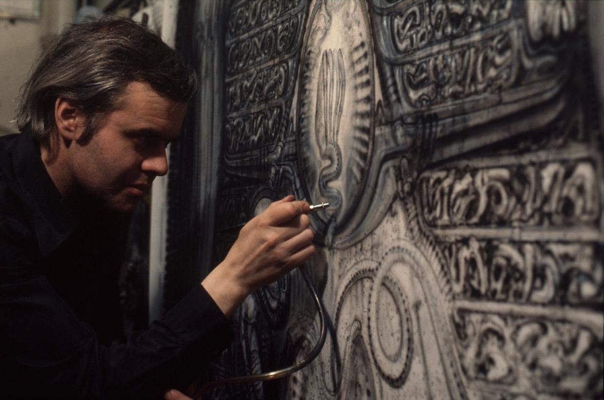 HR Giger at Work (1978)
