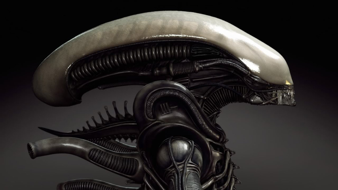 Alien sculpture