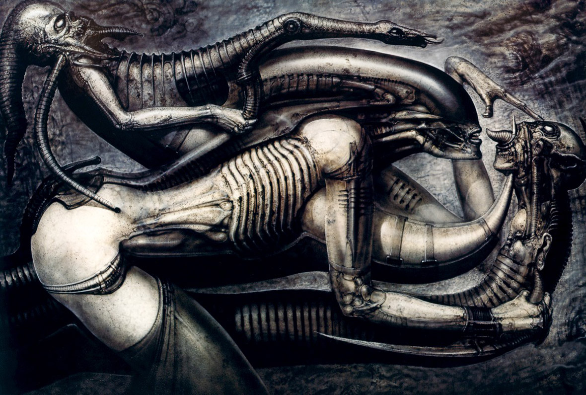 HR Giger's Necronomicon