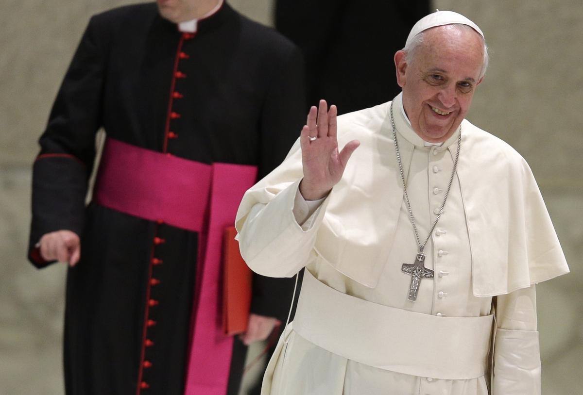 Pope Francis Alien