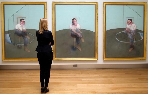 Three Studies for a Portrait of John Edwards