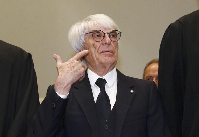Formula One boss Bernie Ecclestone