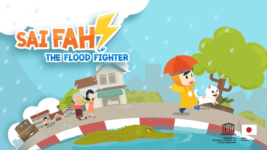Sai Fah - The Flood Fighter Smartphone App