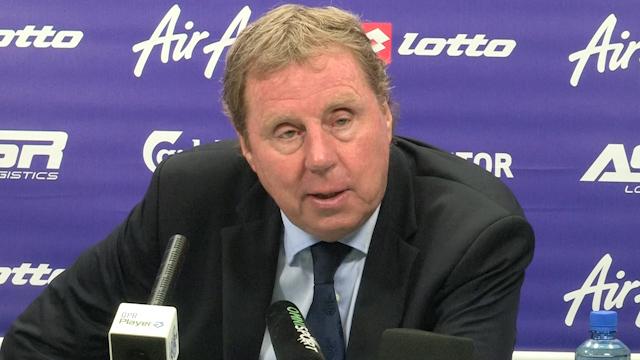 Redknapp Talks QPR's Wembley Win over Wigan