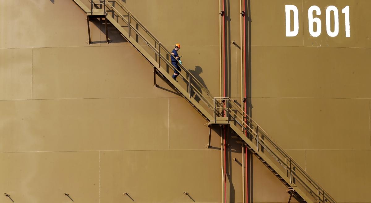 Ceyhan oil worker