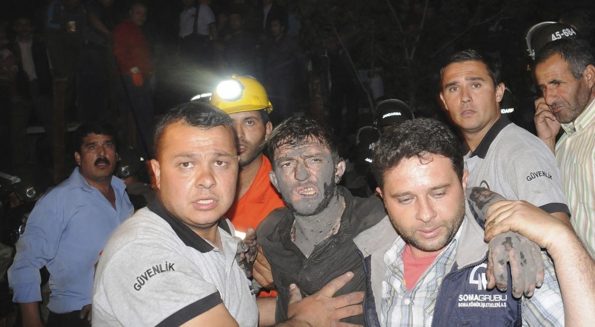 Turkey mine explosion