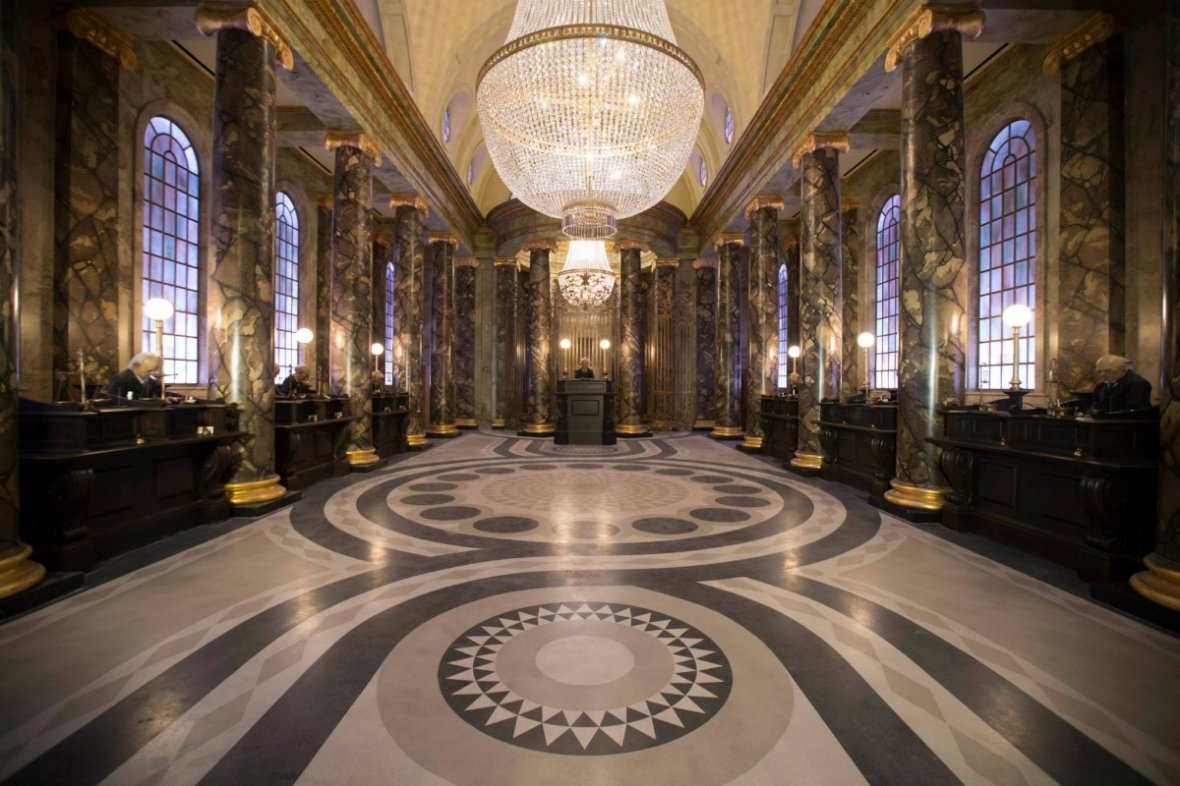 Universal is recreating Gringotts Bank