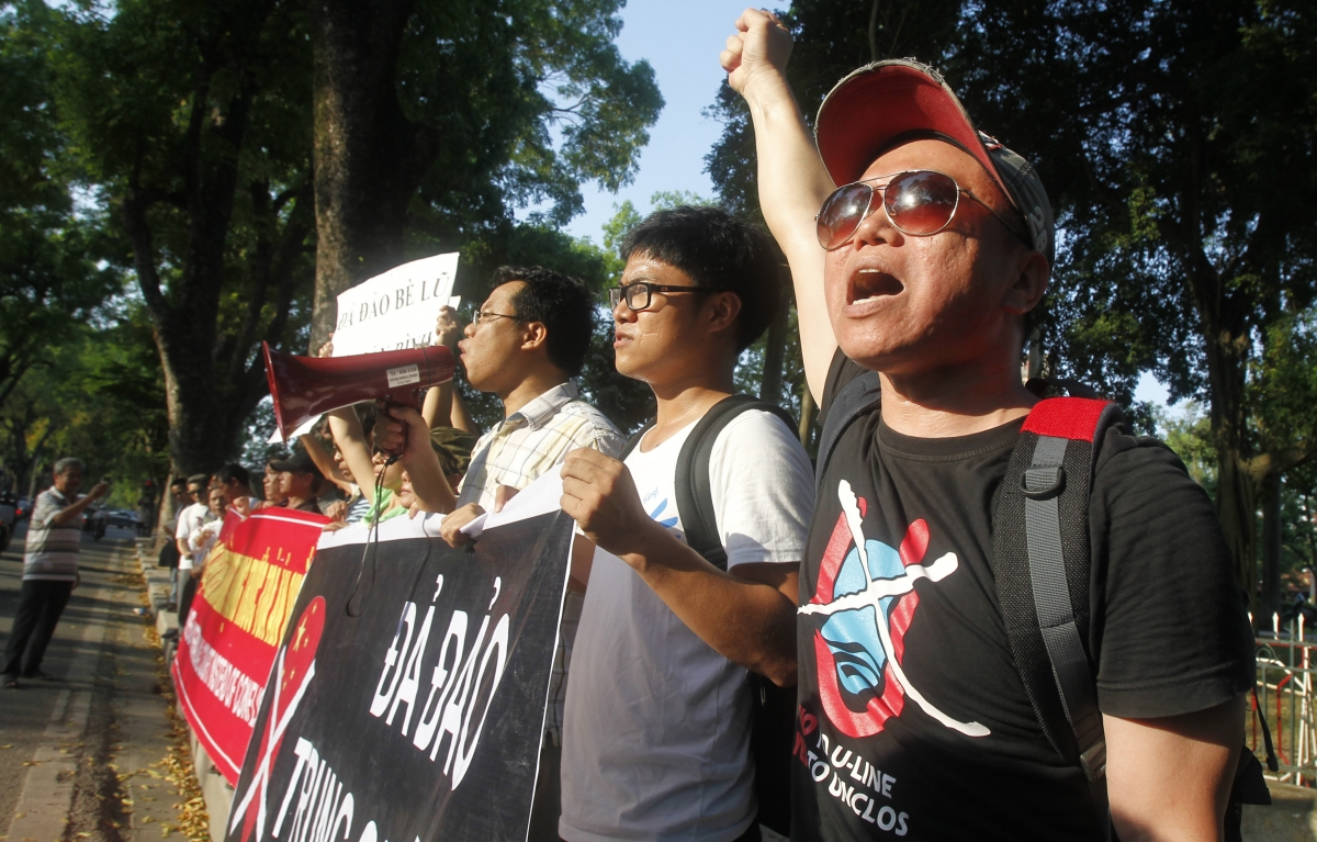 Vietnam anti-China protest