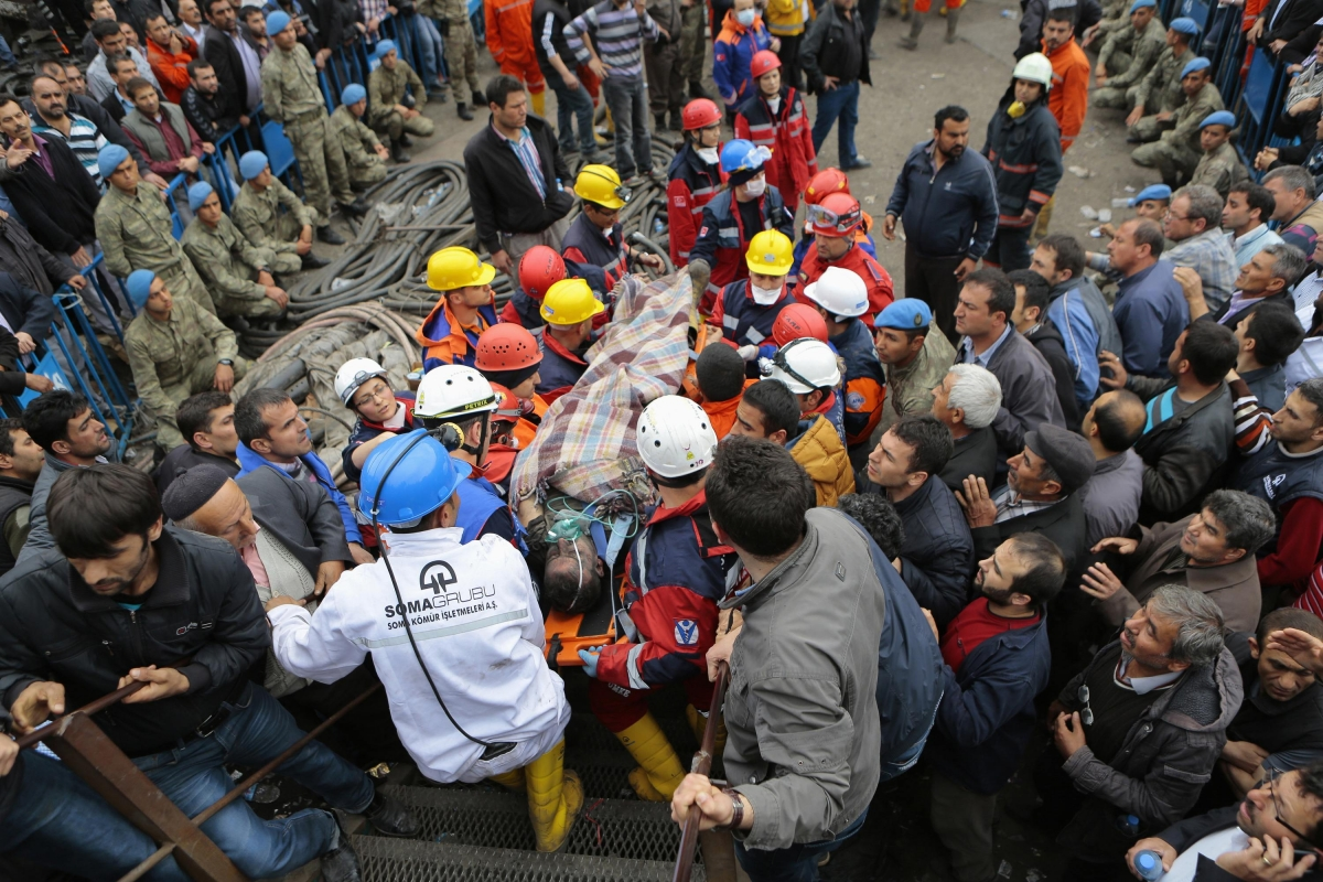 Turkish Coal Mine Explosion Kills Over 200