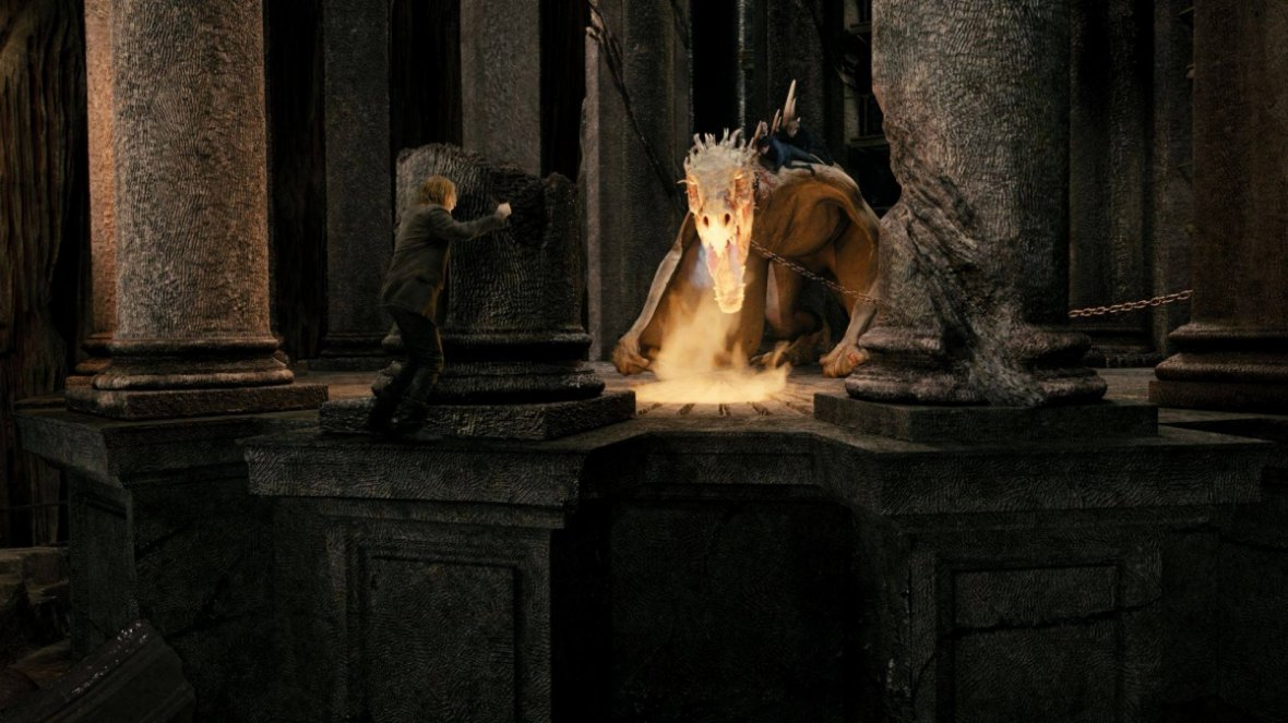 Beware the dragons guarding bank vaults in Gringotts Bank