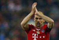 Bayern Munich\'s Arjen Robben walks out the pitch after the Champions League semi-final second leg soccer match against Real Madrid at the Arena stadium in Munich, April 29, 2014.