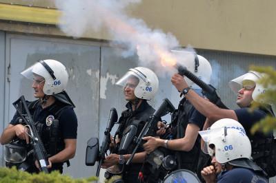 ankara tear gas