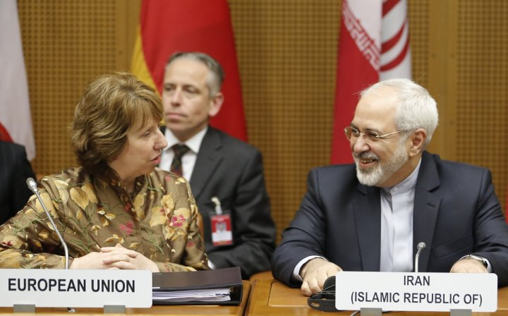 Ashton Zarif Iran talks