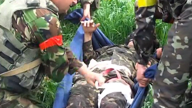 Operation to Retrieve Dead After East Ukraine Ambush