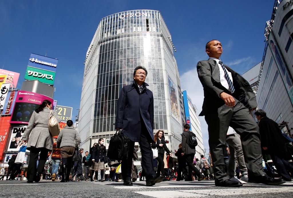 Shibuya Shopping District Tokyo Japan