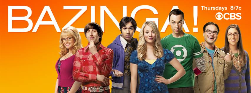 The cast of Big Bang Theory