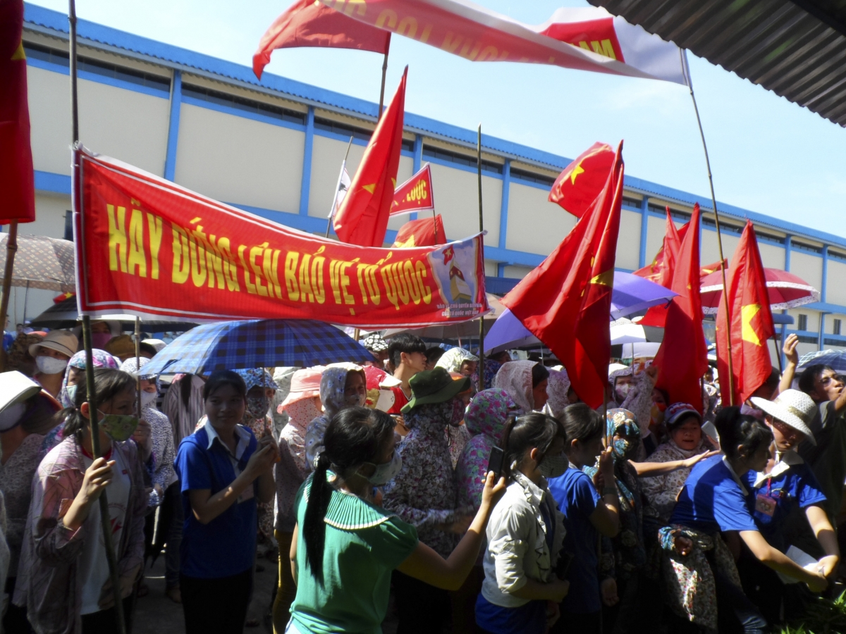 Vietnam anti-China protest