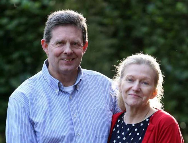 Paul and Sandra Dunham were taken ill at home after making a suicide pact to avoid extradition to the USA