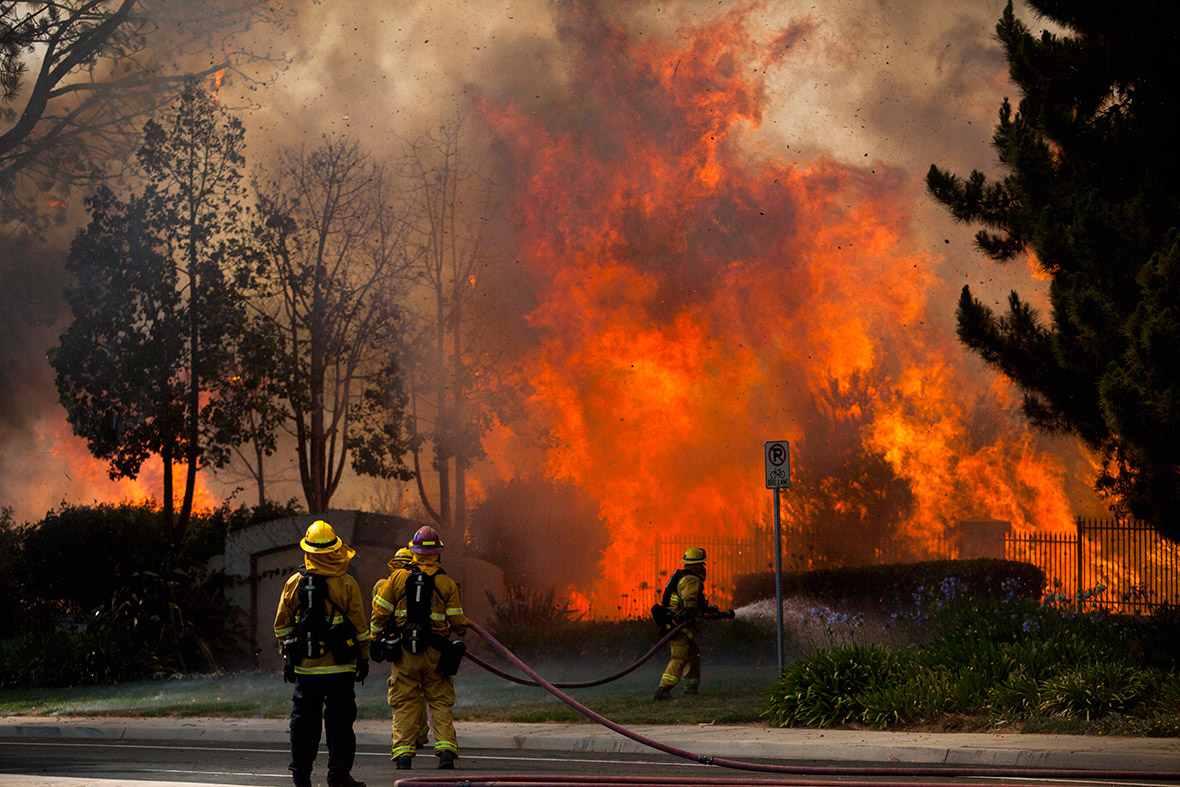 house flames