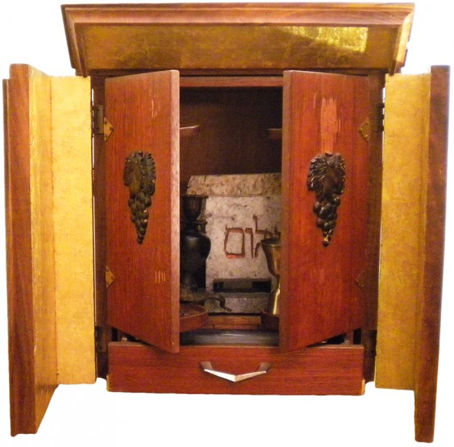 The infamous Dybuuk box, which has inspired others to sell haunted items on eBay