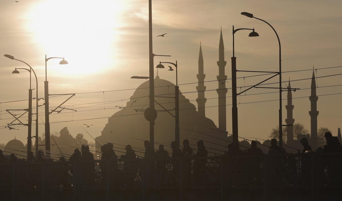 Syrian istanbul turkey Suleymaniye mosque