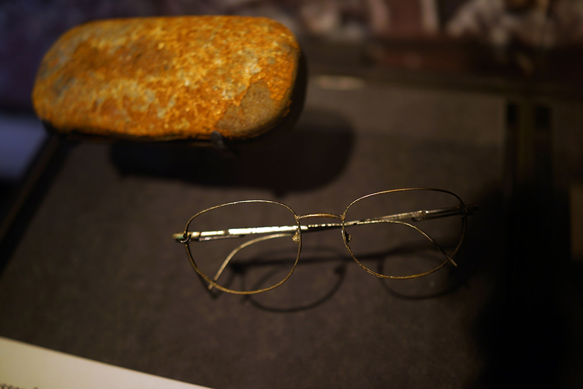 A pair of glasses recovered from Ground Zero