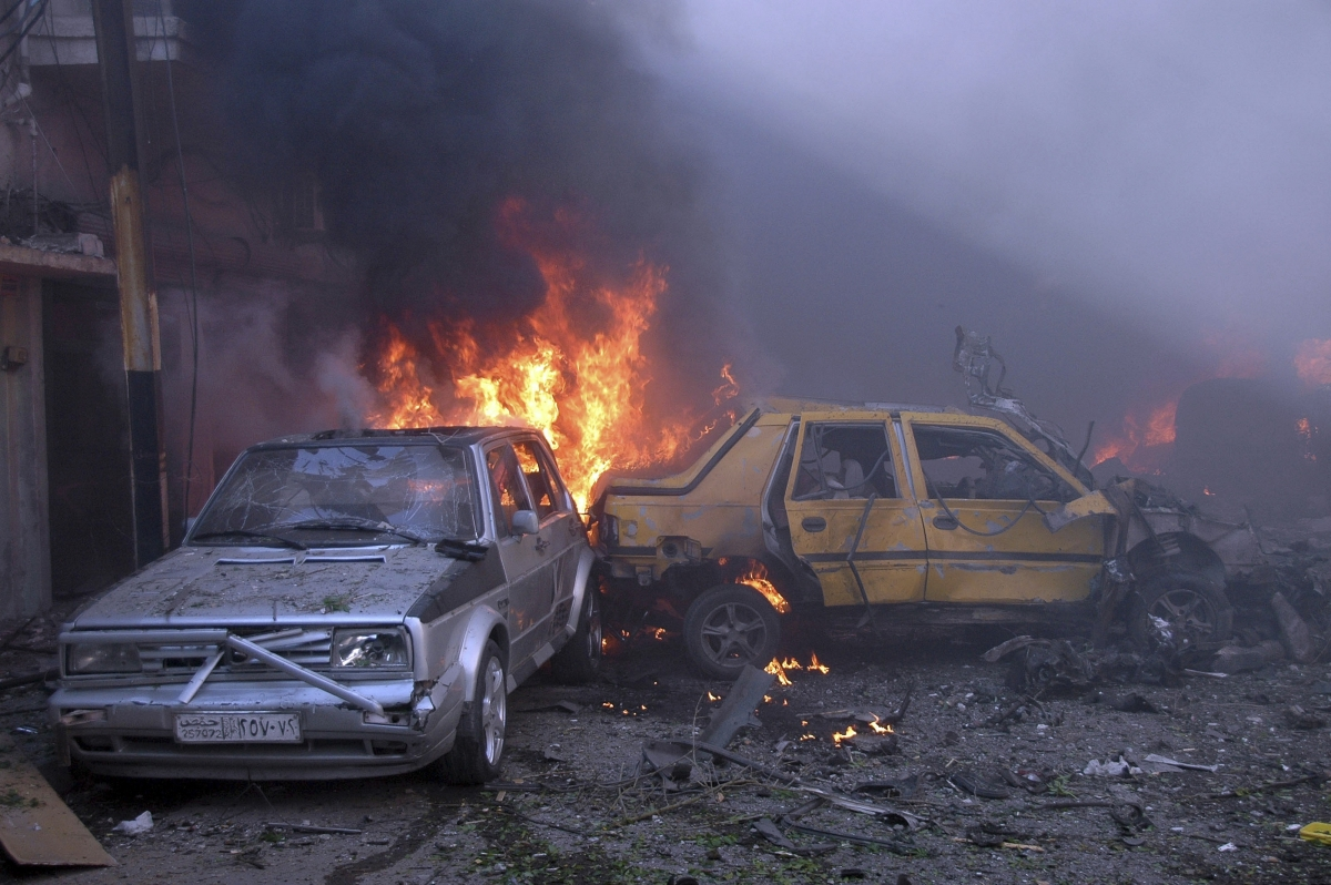 Syria Civil War Car Bomb Blast Kills 29 On Turkey Border