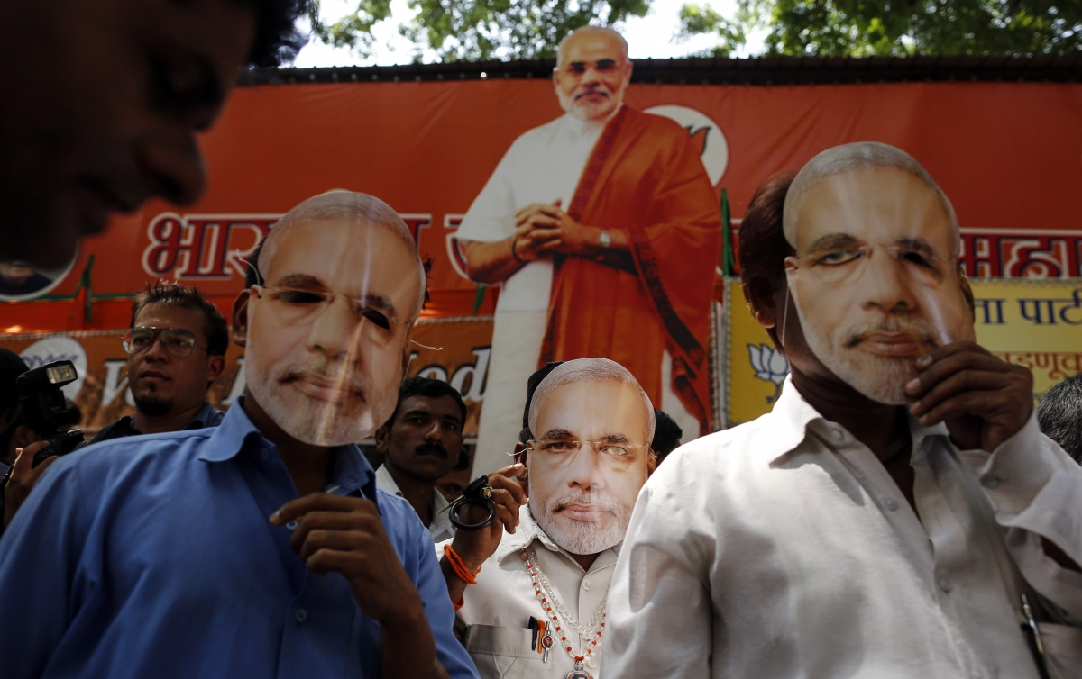 India's Modi on Course for Absolute Majority