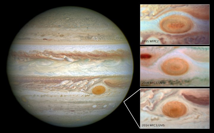 jupiter giant red spot