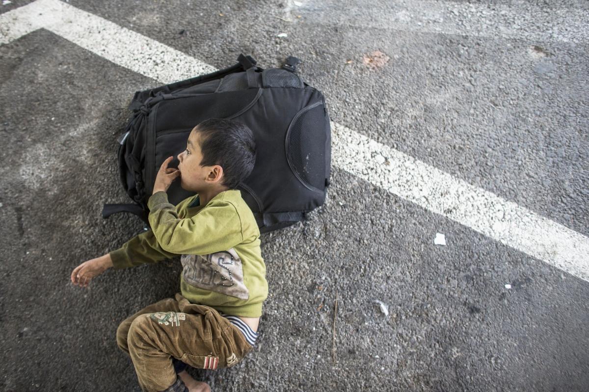 Asia China Trafficking Baby Child