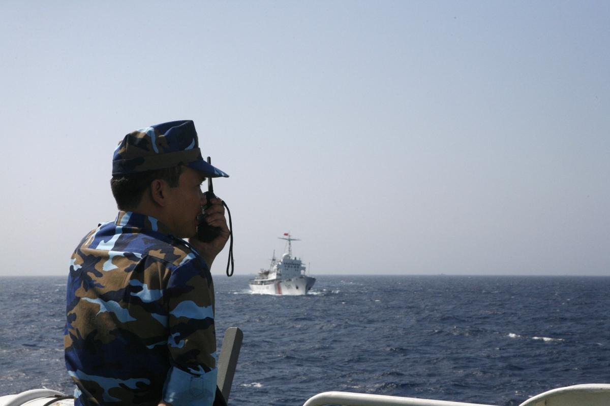 South China Sea Tension War China Vietnam Philippines