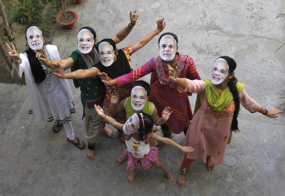 India general elections, BJP's Narendra Modi