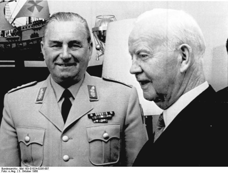 Albert Schnez, Heinrich Lübke