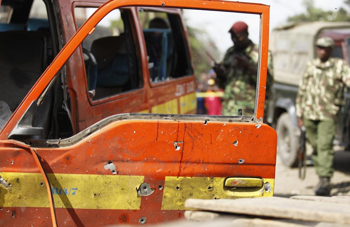 Eastleigh Nairobi Market Bomb