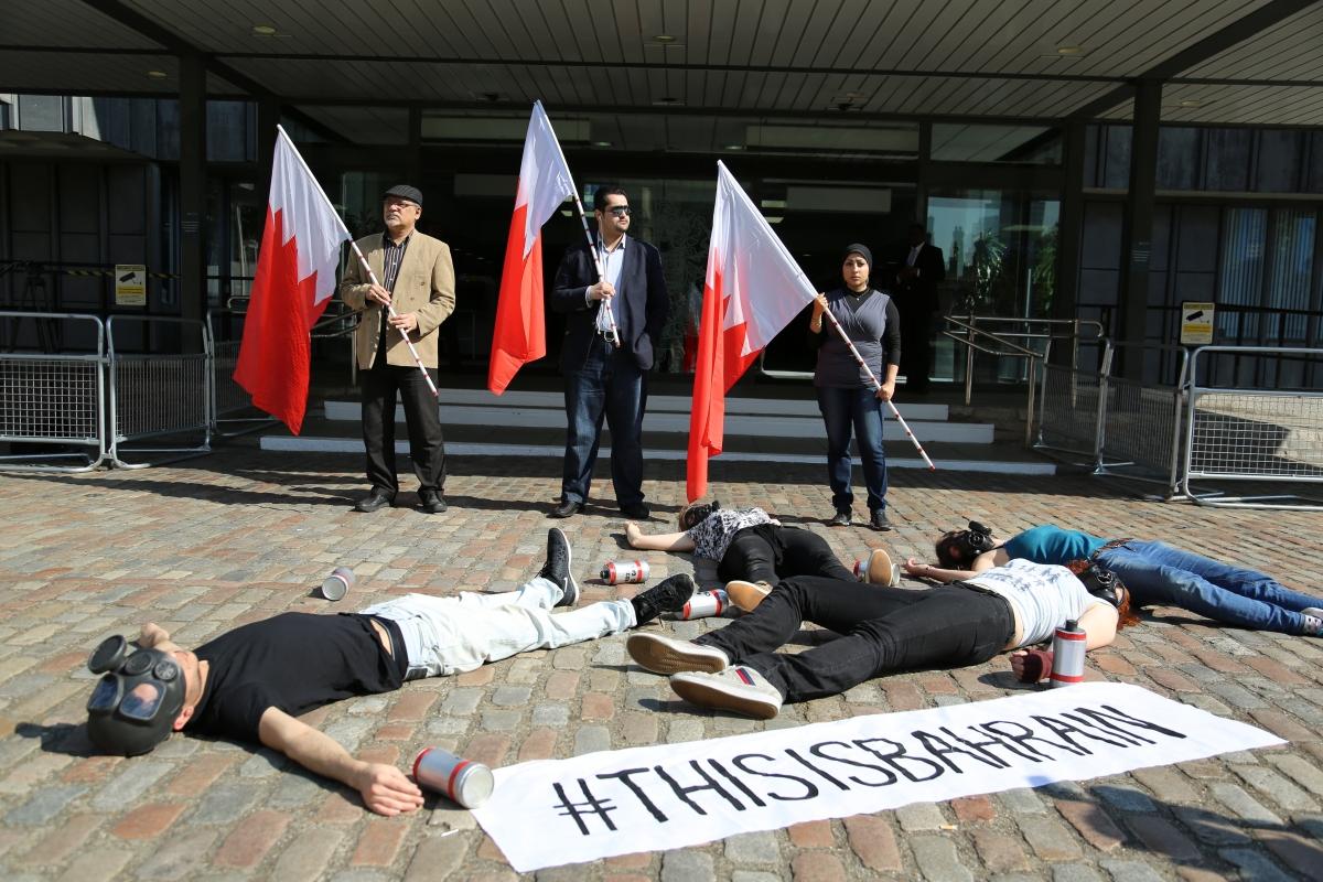Bahraini Pro-Democracy Activists Stage Protest against King Hamad