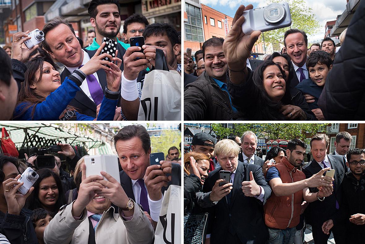 cameron selfies