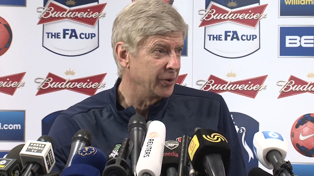 Wenger Speaks ahead of FA Cup Final against Hull