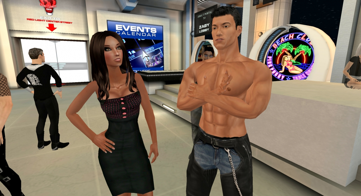 Virtual world sex games online