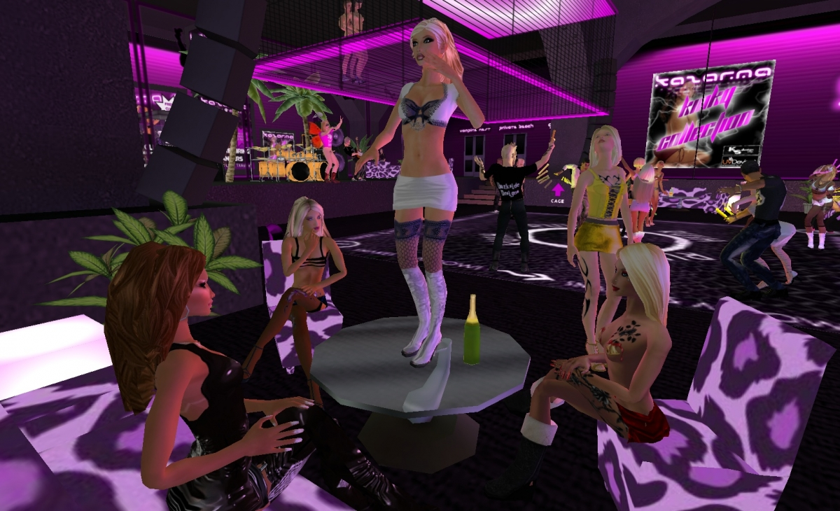 Want to make real money from being a virtual stripper? You can on Utherverse