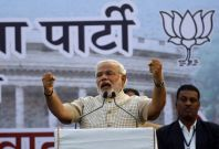 India general elections, BJP\'s Narendra Modi