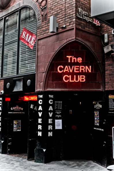 The Cavern Club in Liverpool, where the Beatles started their career