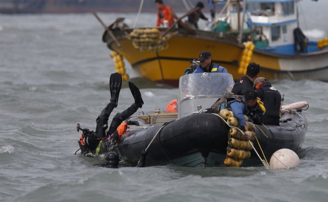 South Korea ferry tragedy