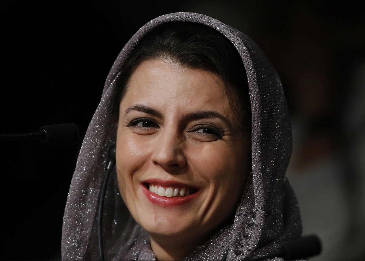 Jury member actress Leila Hatami at the 67th Cannes Film Festival in Cannes.