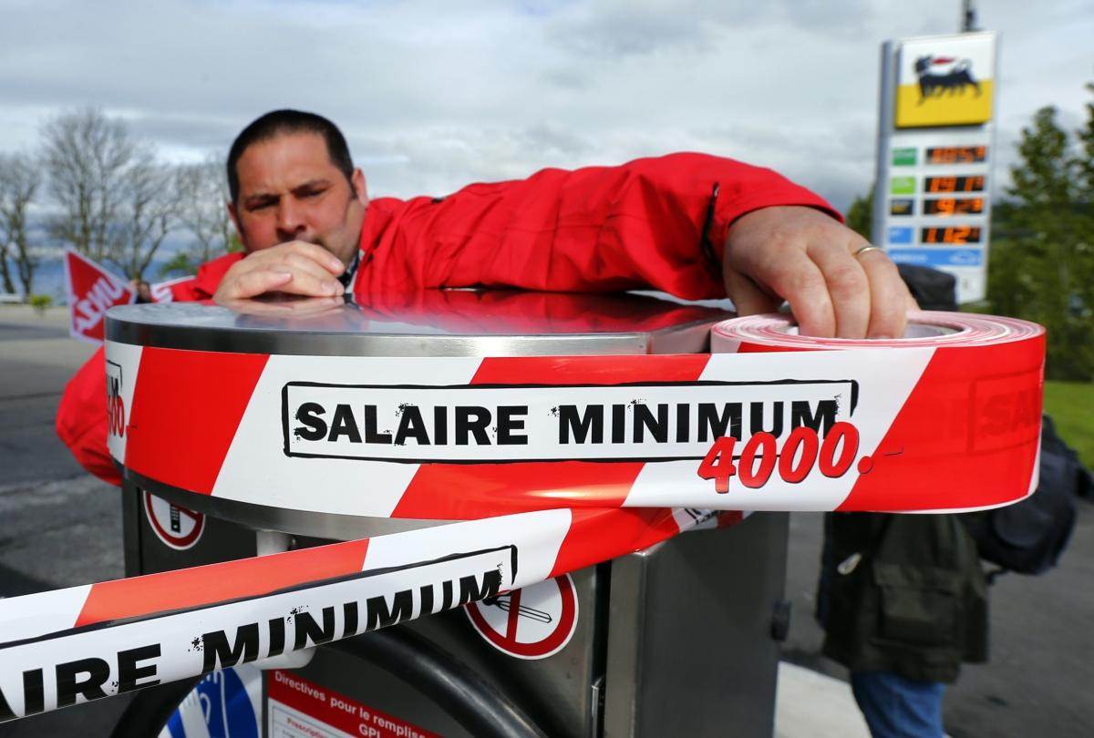 Swiss minimum wage