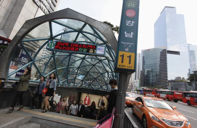 South Korea Explosion Subway
