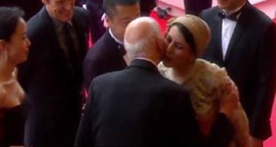 Leila Haitami Cannes Kiss