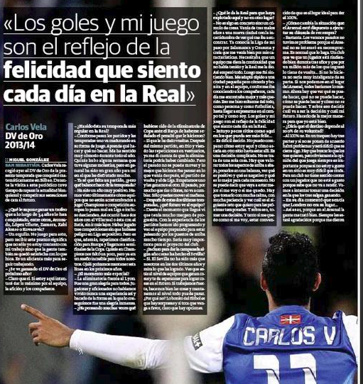 Vela interview
