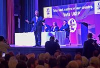 Nigel Farage at Margate rally