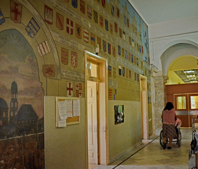 Crusader wall paintings