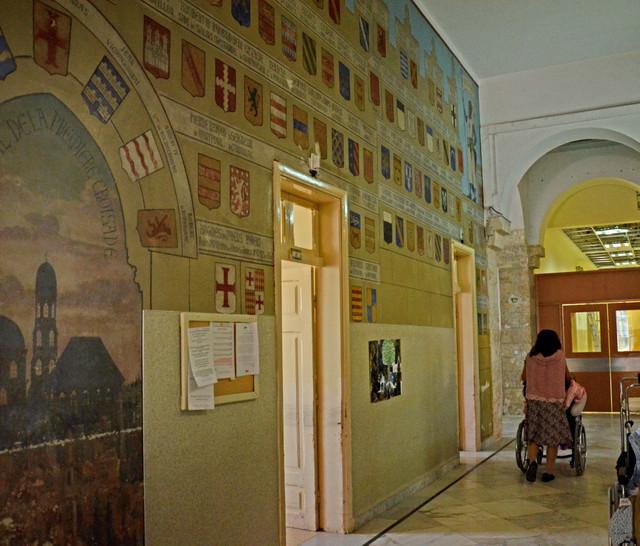 Crusader wall paintings